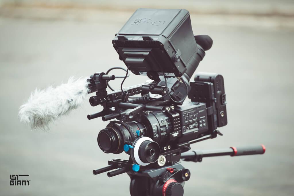 Sony FS700R Super Slow Motion rig